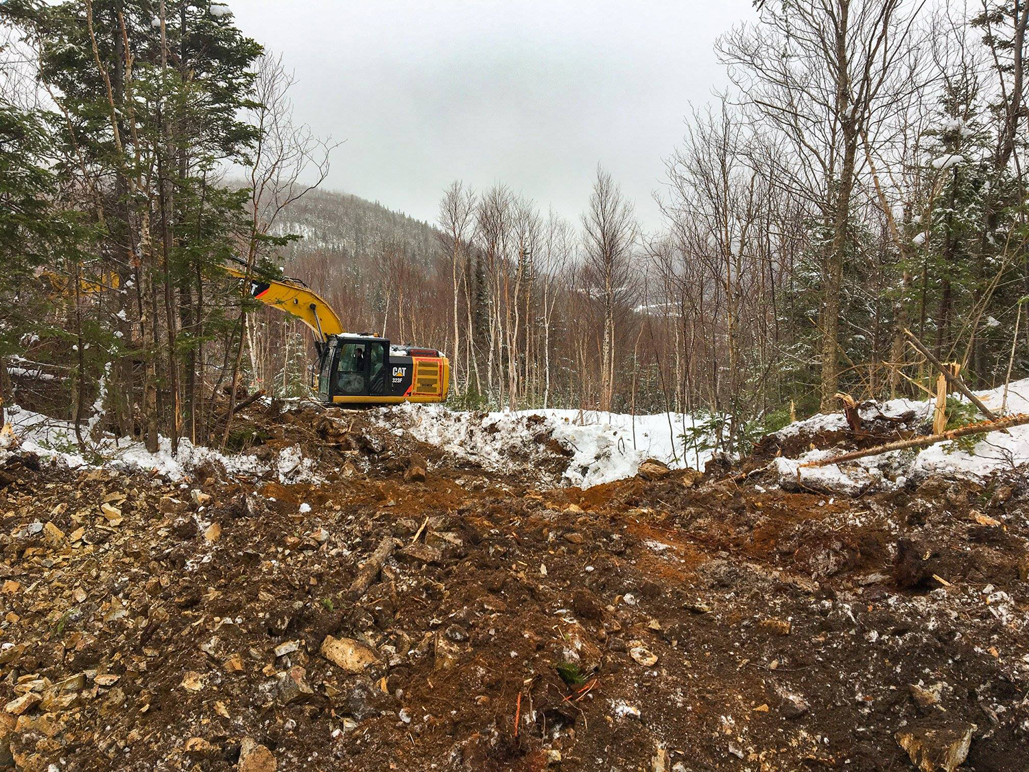 04-25-18 /  Full steam ahead at Nature's Path Estates in Hughes Brook. Thanks to NewLine Developments for the photo.
