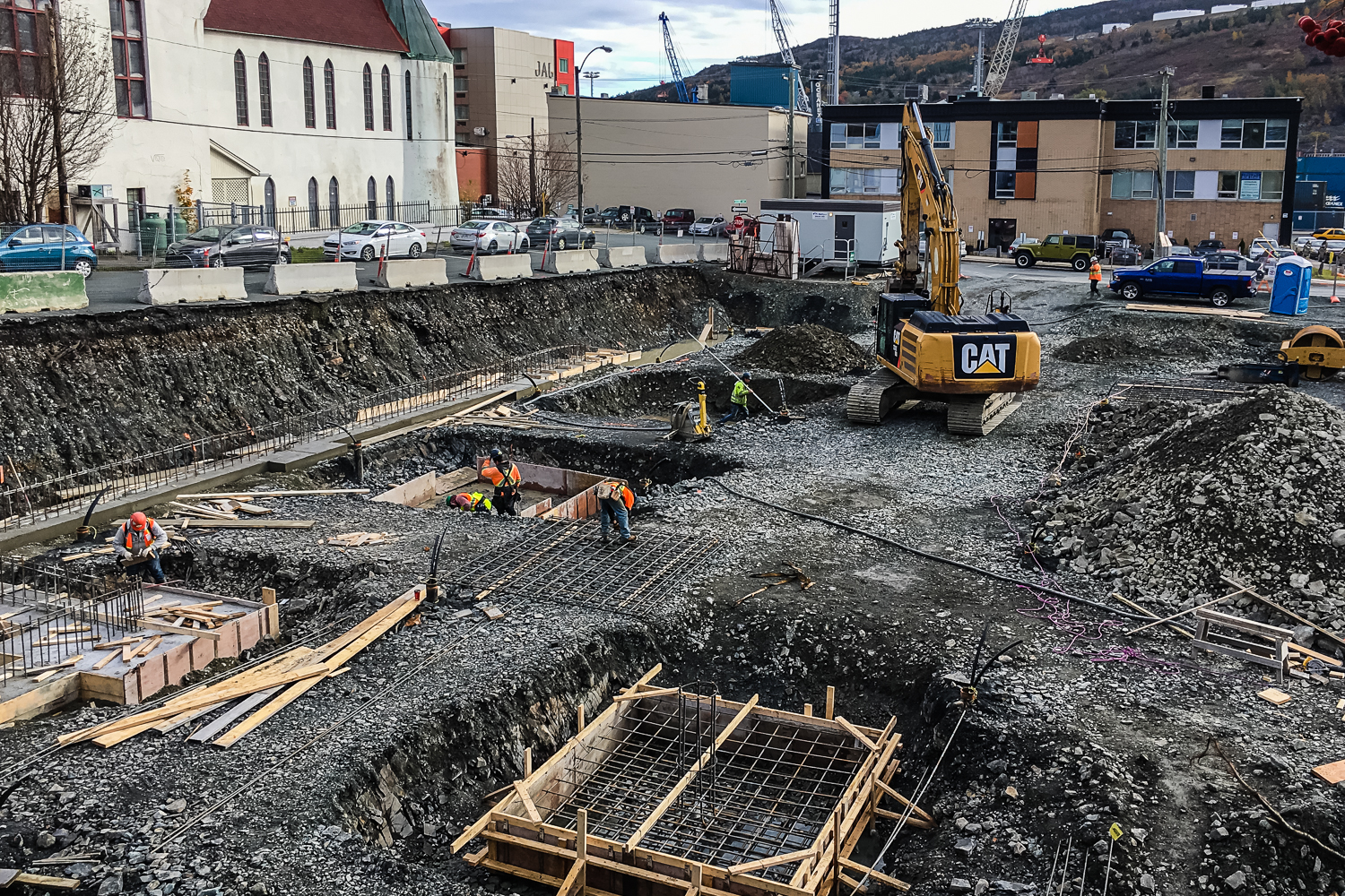 10-24-18 /  Work has begun on the Salvation Army Centre of Hope in downtown St. John's!