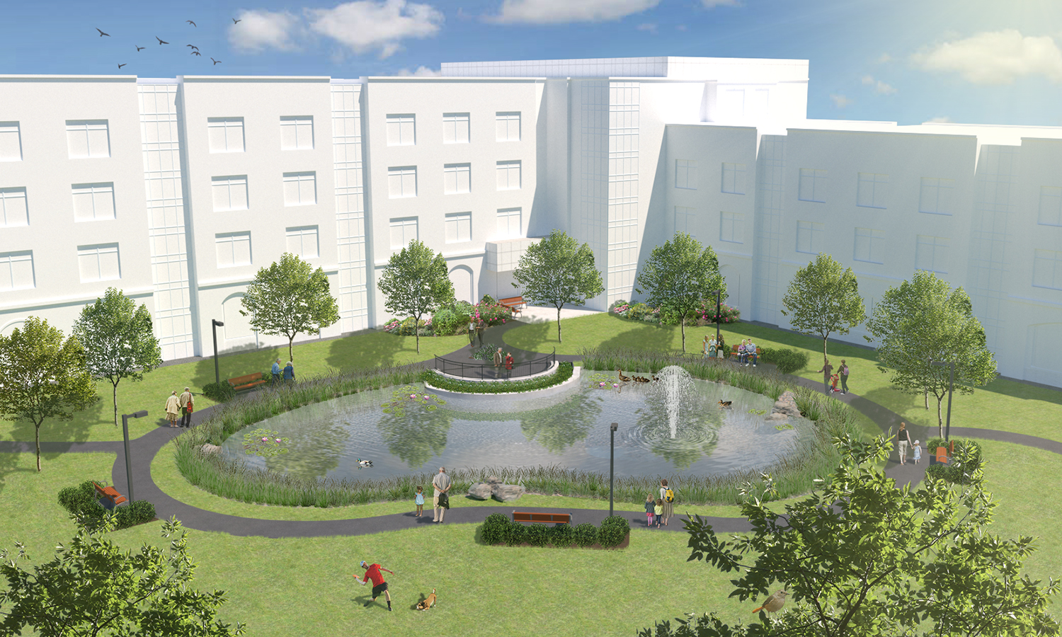 02-28-19 /  Design of a water feature at a proposed long term care facility currently under construction in St. John's.