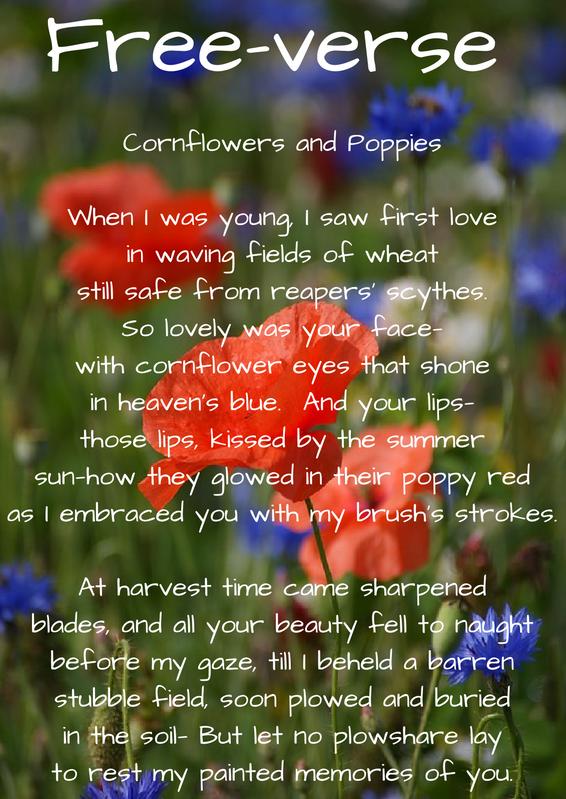 Credits: Poem  © Jerry Kemp 2016; Photo by sujuon on Pixabay.com; Font/Overlay with Canva.com