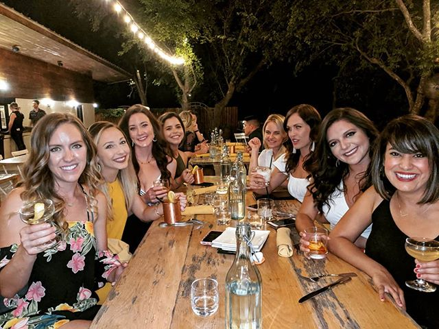 Girls' night out at Tillery is always a blast. Cheers! 🥂🍷🍸🍹🥃