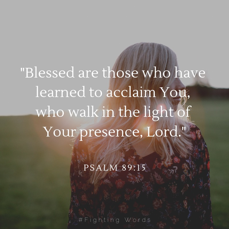 _Blessed are those who have learned to acclaim you, who walk in the light of your presence, Lord. (1).jpeg