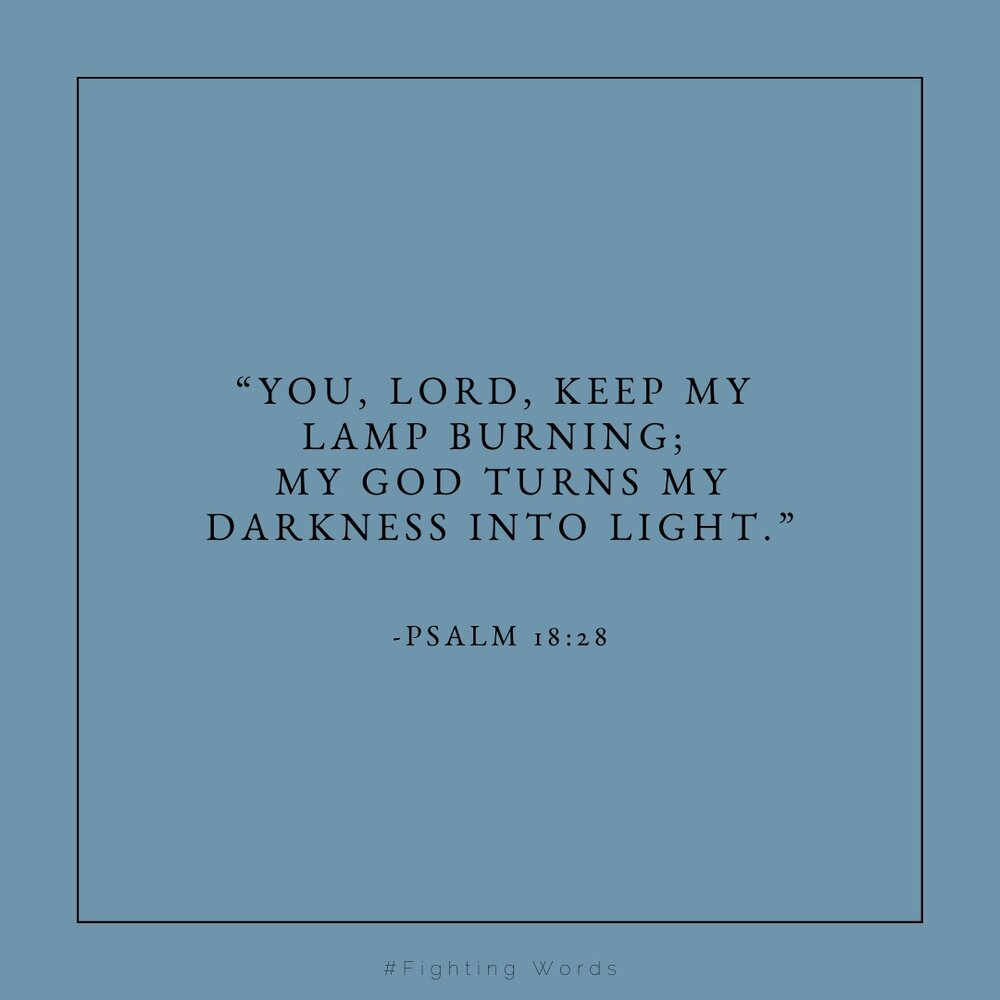 """""""You are Lord keep my lamp burning; my God turns my darkness into light."""" (2).jpeg"""