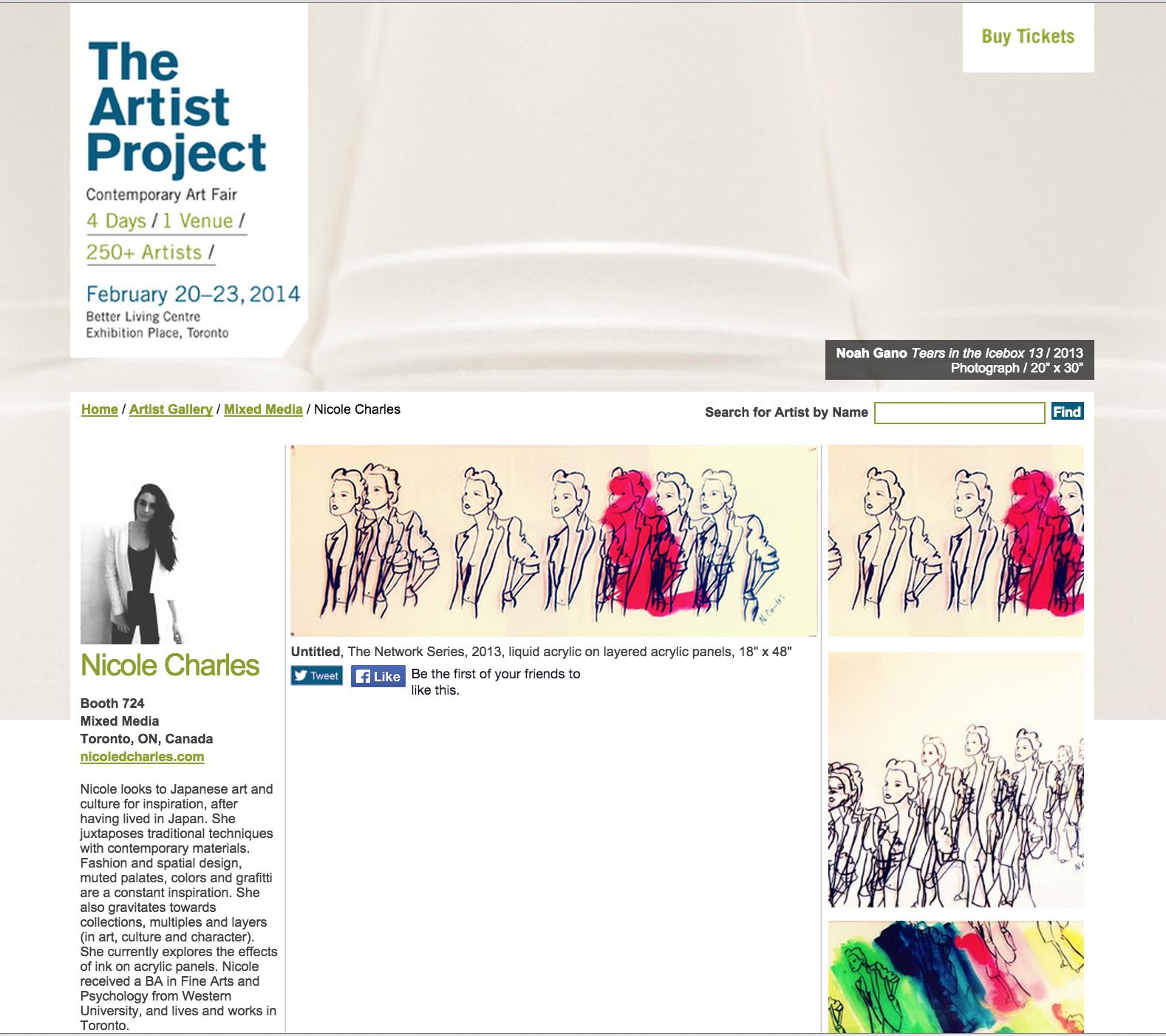 Artist Project, 2014