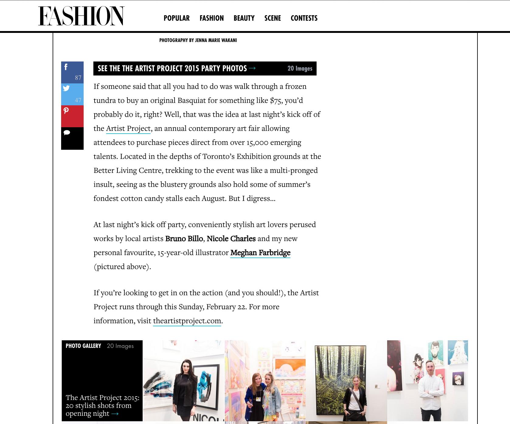 Fashion Magazine, 2015 (2/2)