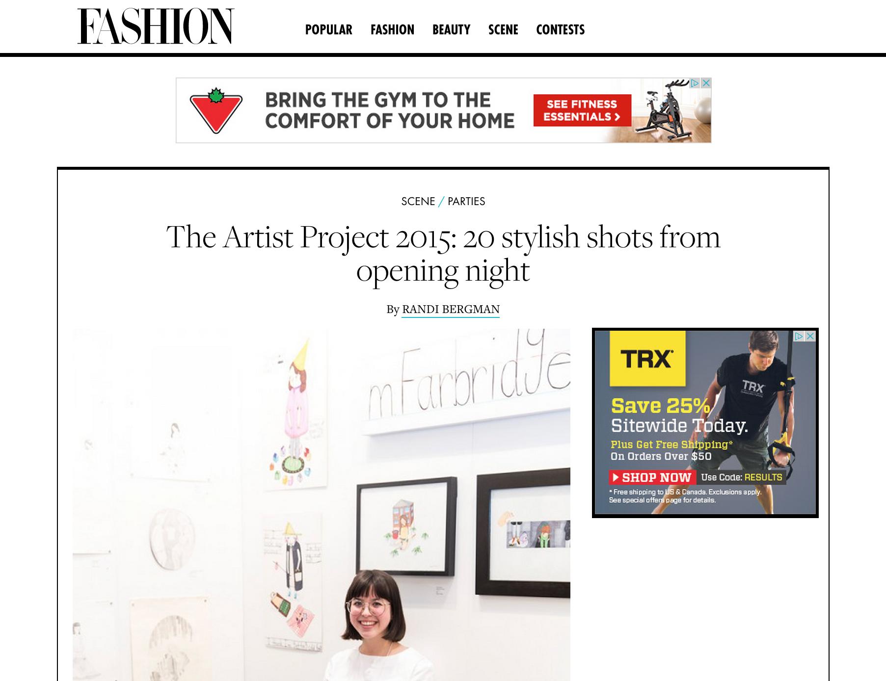 Fashion Magazine, 2015 (1/2)