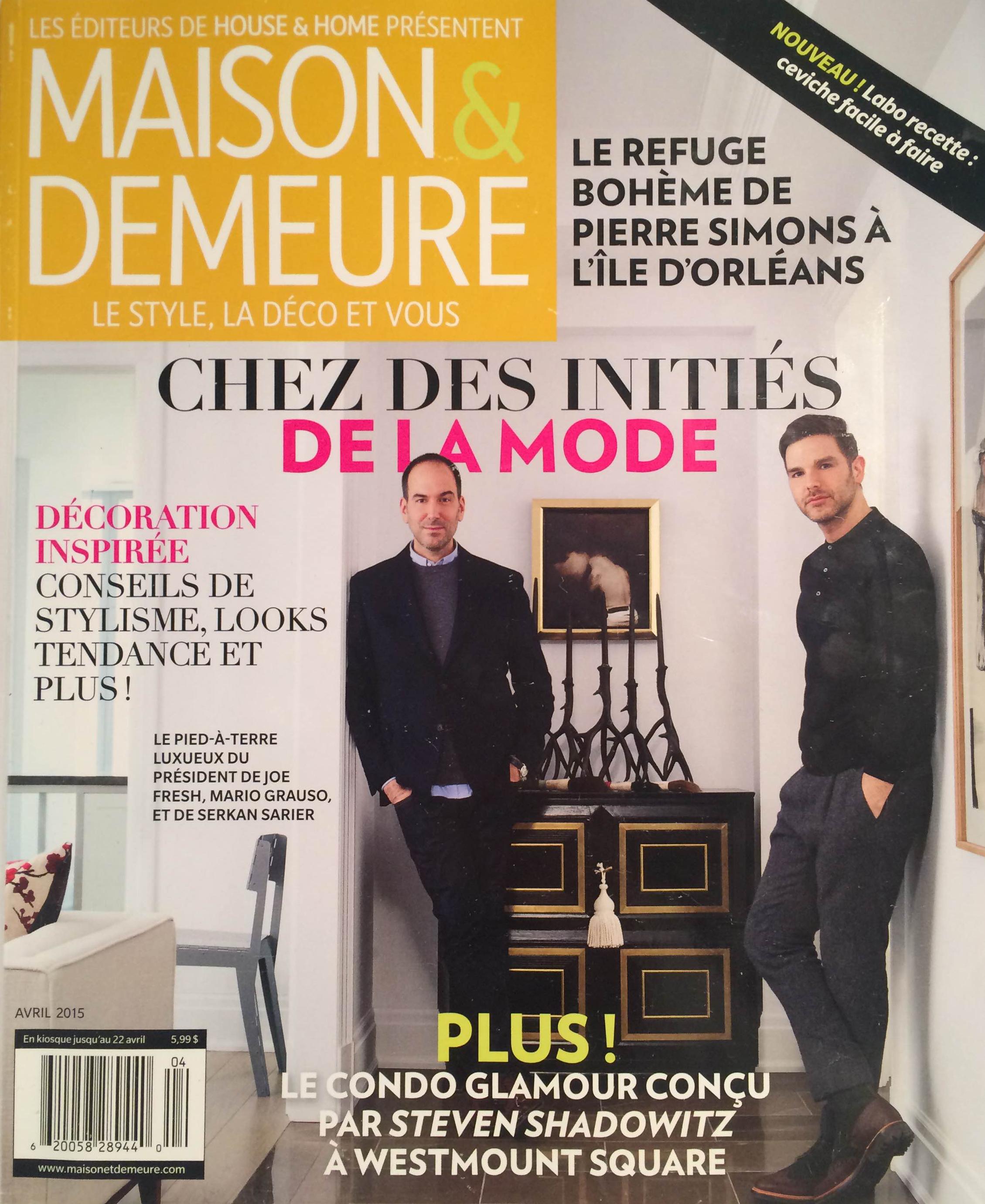 Maison & Demeure, 2015 (1/2)