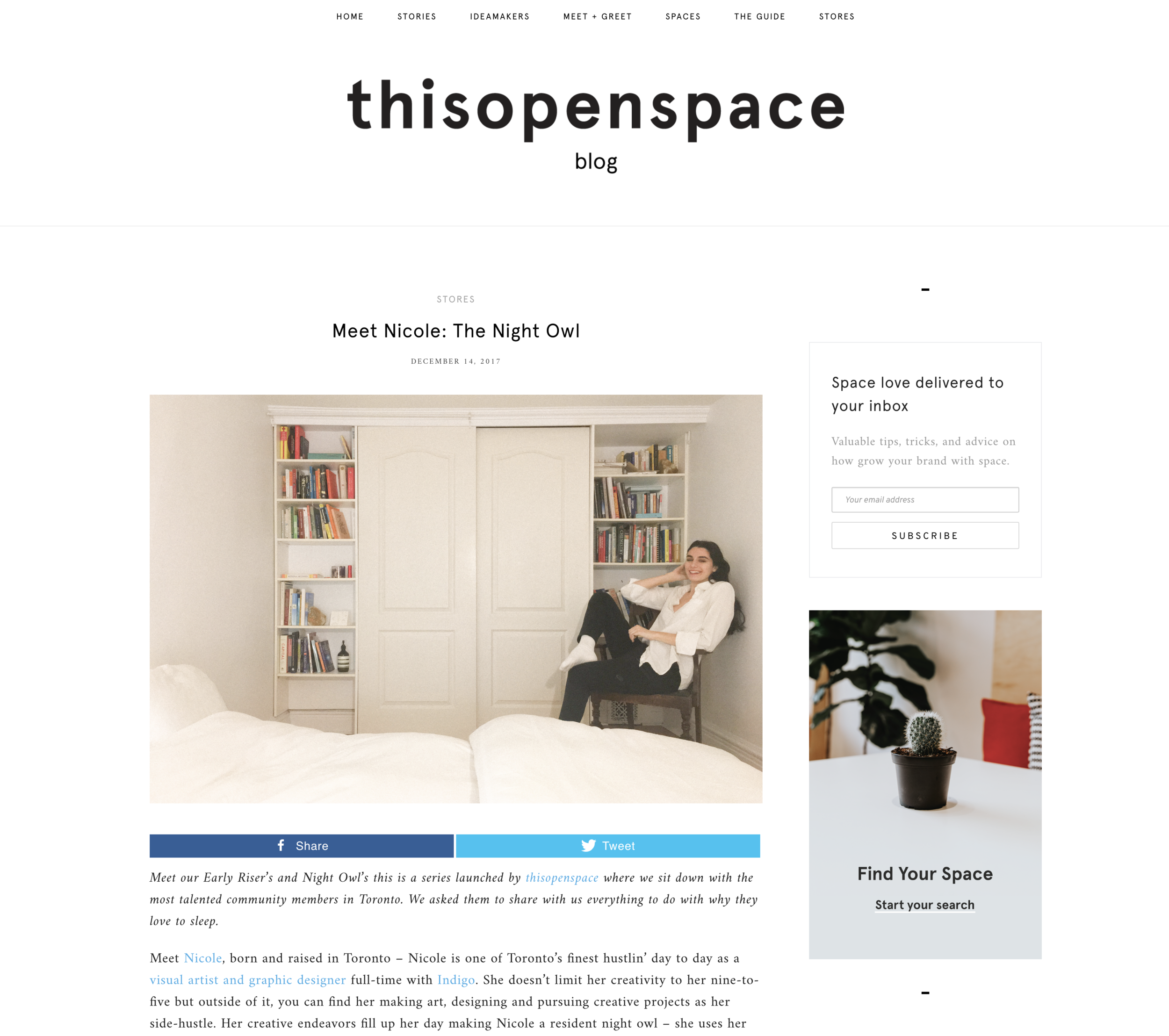 thisopenspace, 2017