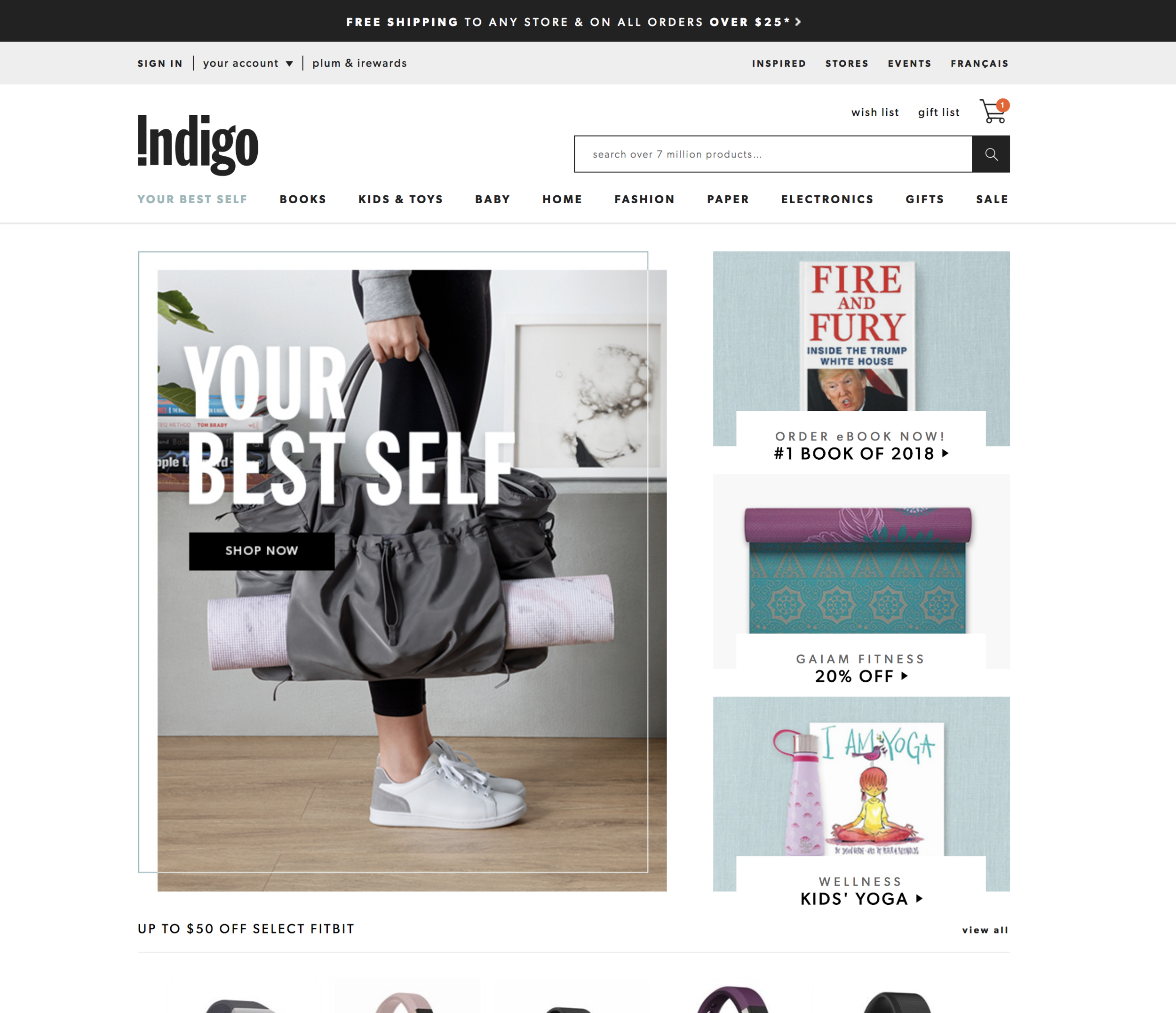 Indigo, 2018