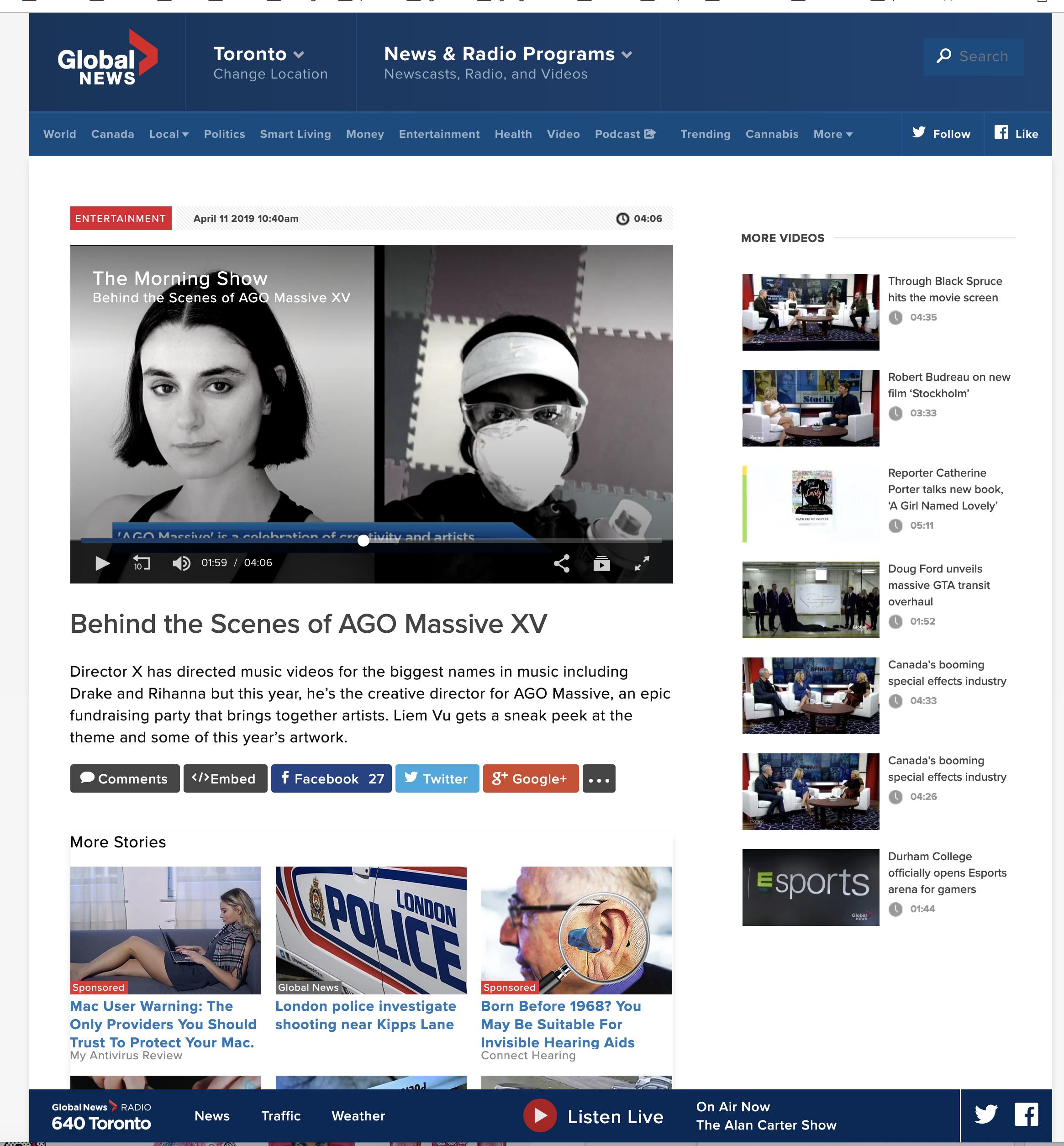 Global News, 2019