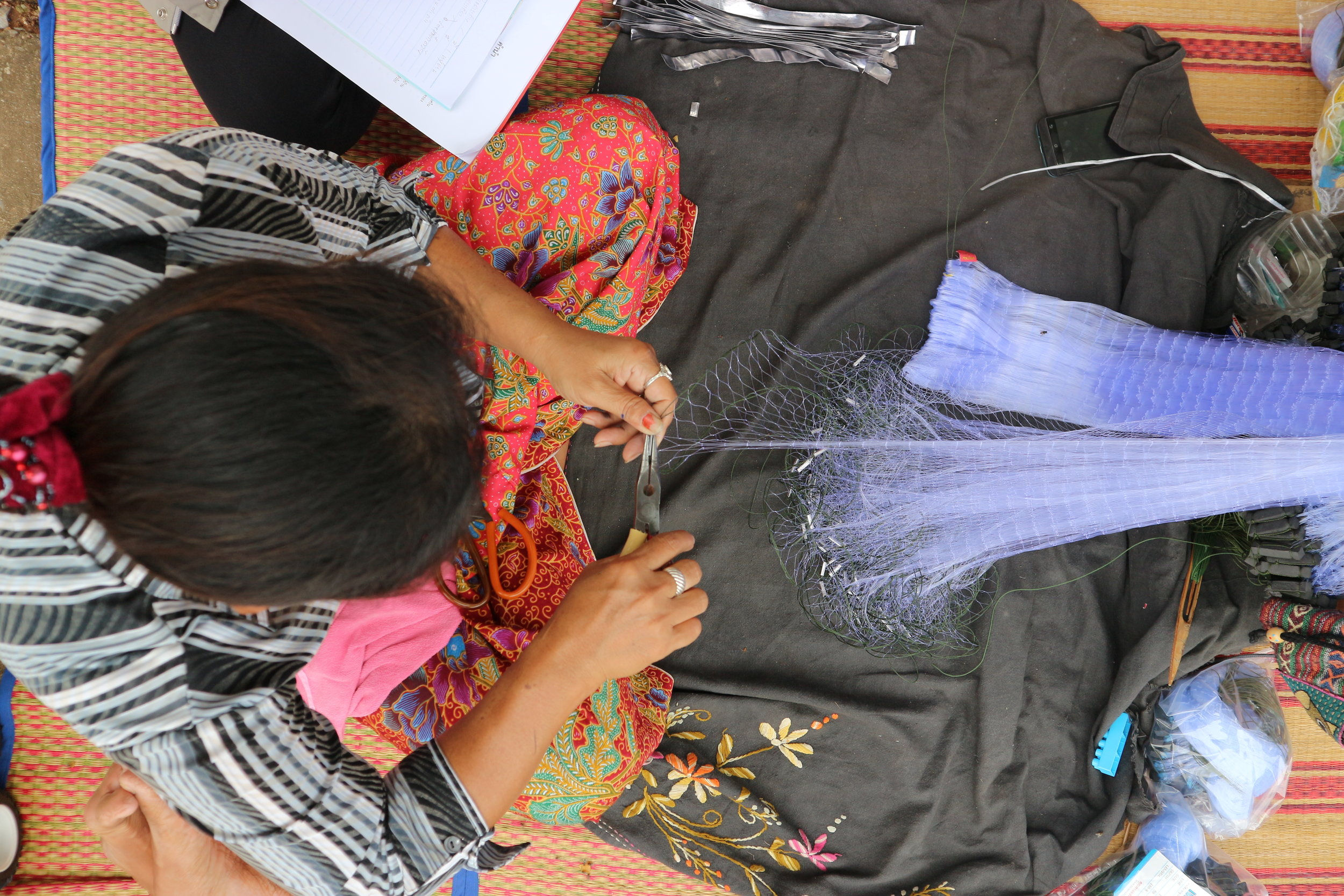 Fishing Net Homeworker in Khon Kaen, Thailand - How can the piece rates for homeworkers be increased so they can earn a living wage?