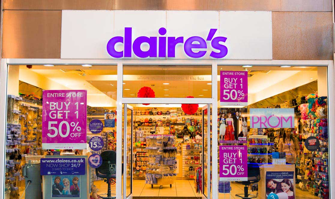 Accessory chain-store Claire's was forced to re-call nine make up products after reports came out that they contained traces of tremolite asbestos.