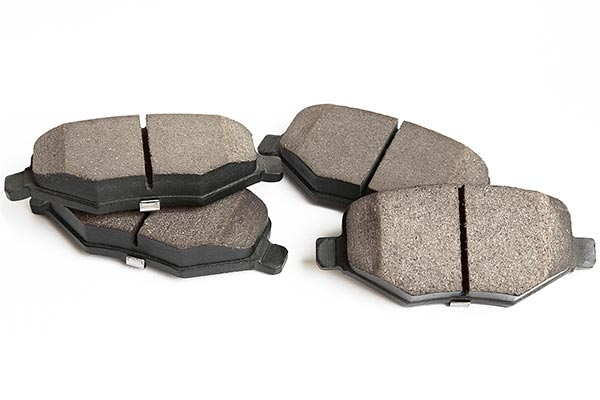 Brake pads: Just one of the many places asbestos can be found in older cars.