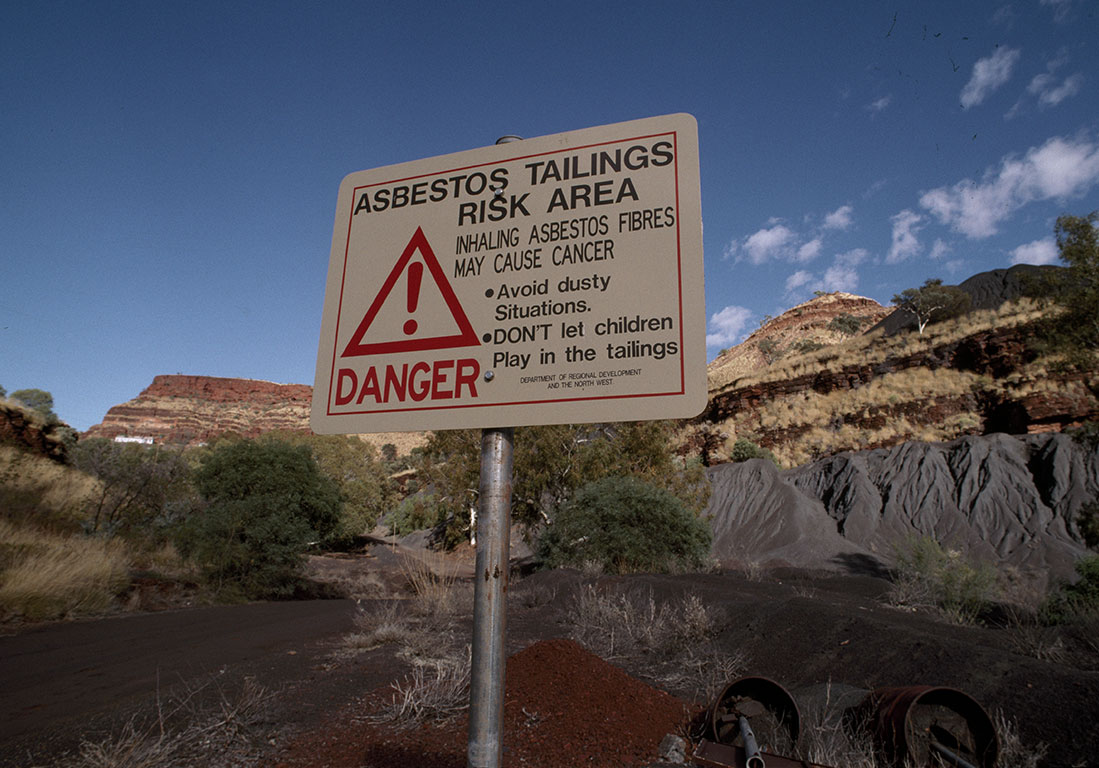 Australia is still facing the consequences of its toxic asbestos legacy.