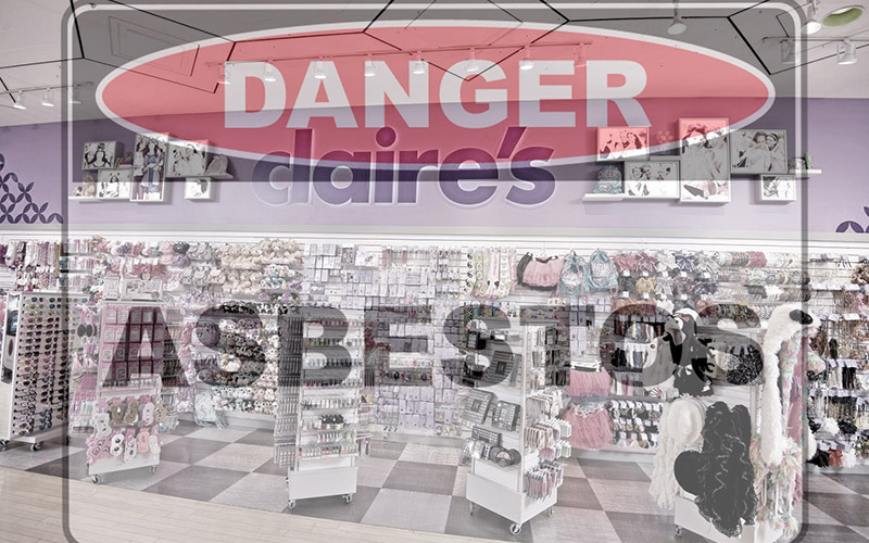 More Asbestos Woes For Fashion Accessory Chain Claire's.