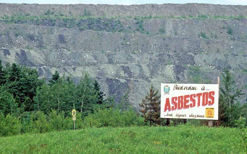 Asbestos Mining Towns Asbestos Quebec