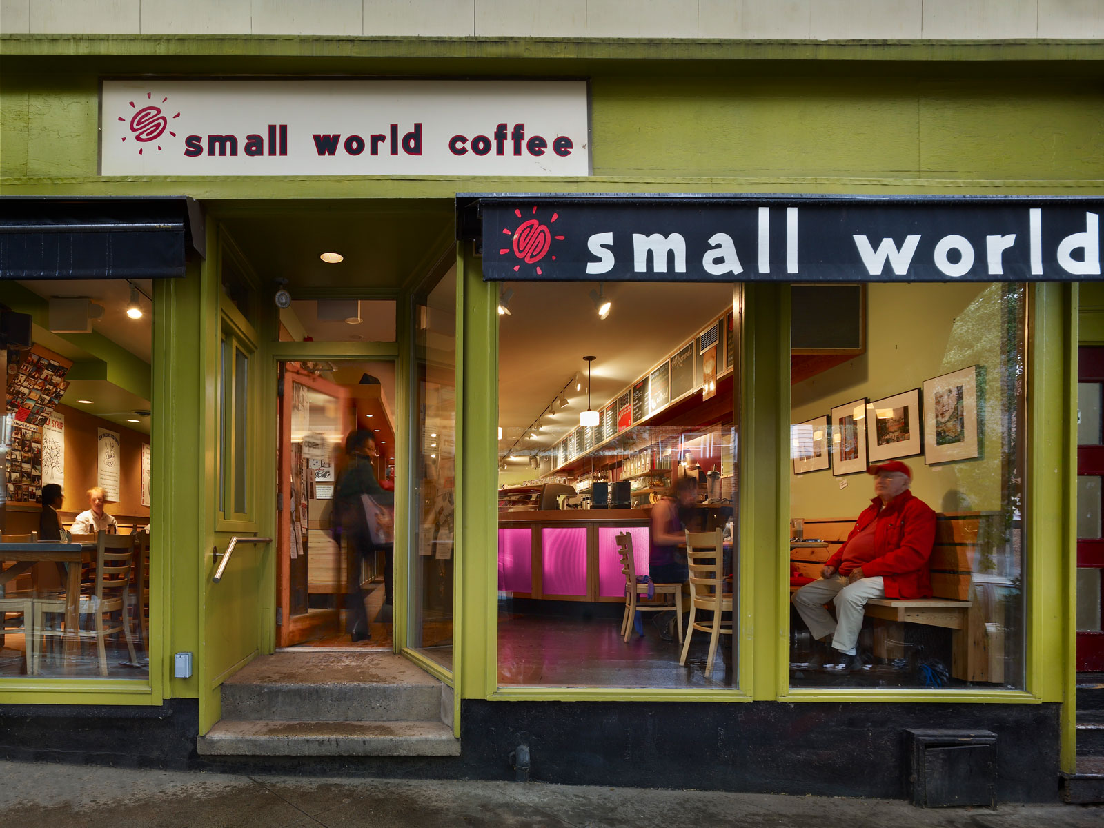 SMALL WORLD COFFEE WITHERSPOON