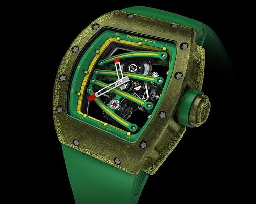 Tourbillon Richard Mille RM 59-01 Yohan Blake