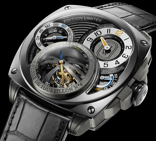 Harry Winston Histoire de Tourbillon 4 wristwatch