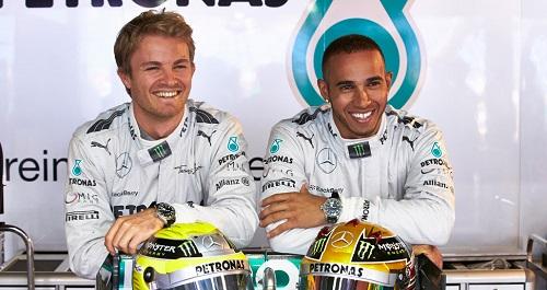 Lewis-Hamilton-and-Nico-Rosberg-IWC-Ambassadors_2013