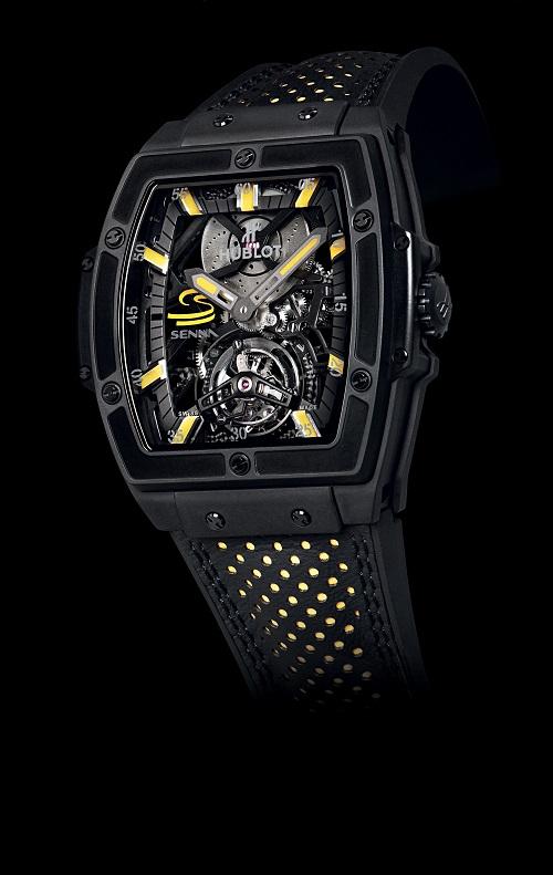 Hublot MP 06 Senna Tourbillon watch