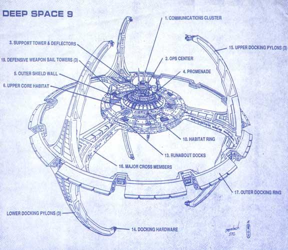 Deep Space Tourbillon Blueprint