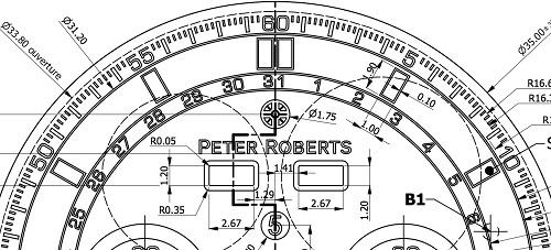 Peter roberts Concentrique