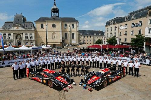 Rebellion Racing Le Mans 2013