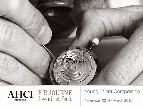 AHCI Presents Young Talent Competition In association with F.P. Journe