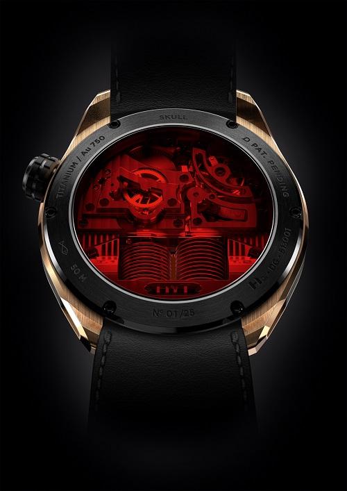 HYT skull watch 2015