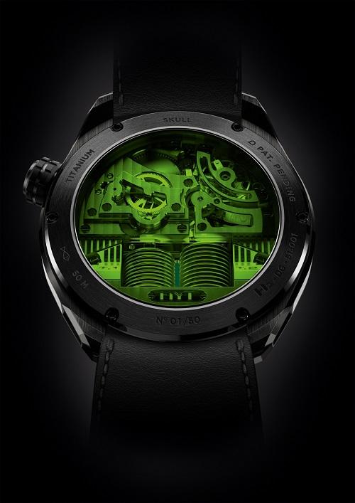 HYT skull watch