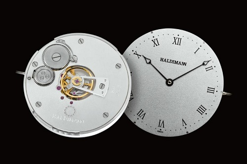 Beat Haldimann H11 Centralbalance three hands watch