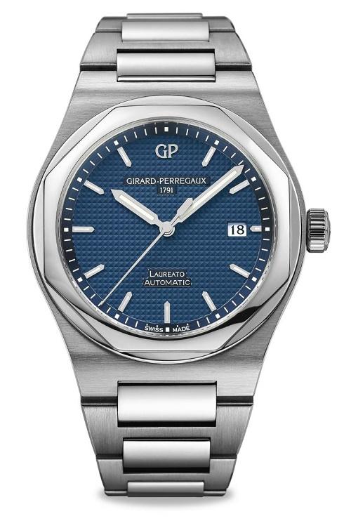 Girard-Perregaux Laureato 2016 Blue Dial