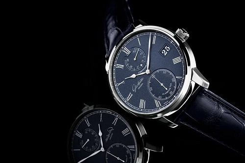 Glashutte Original Senator Chronometer Blue