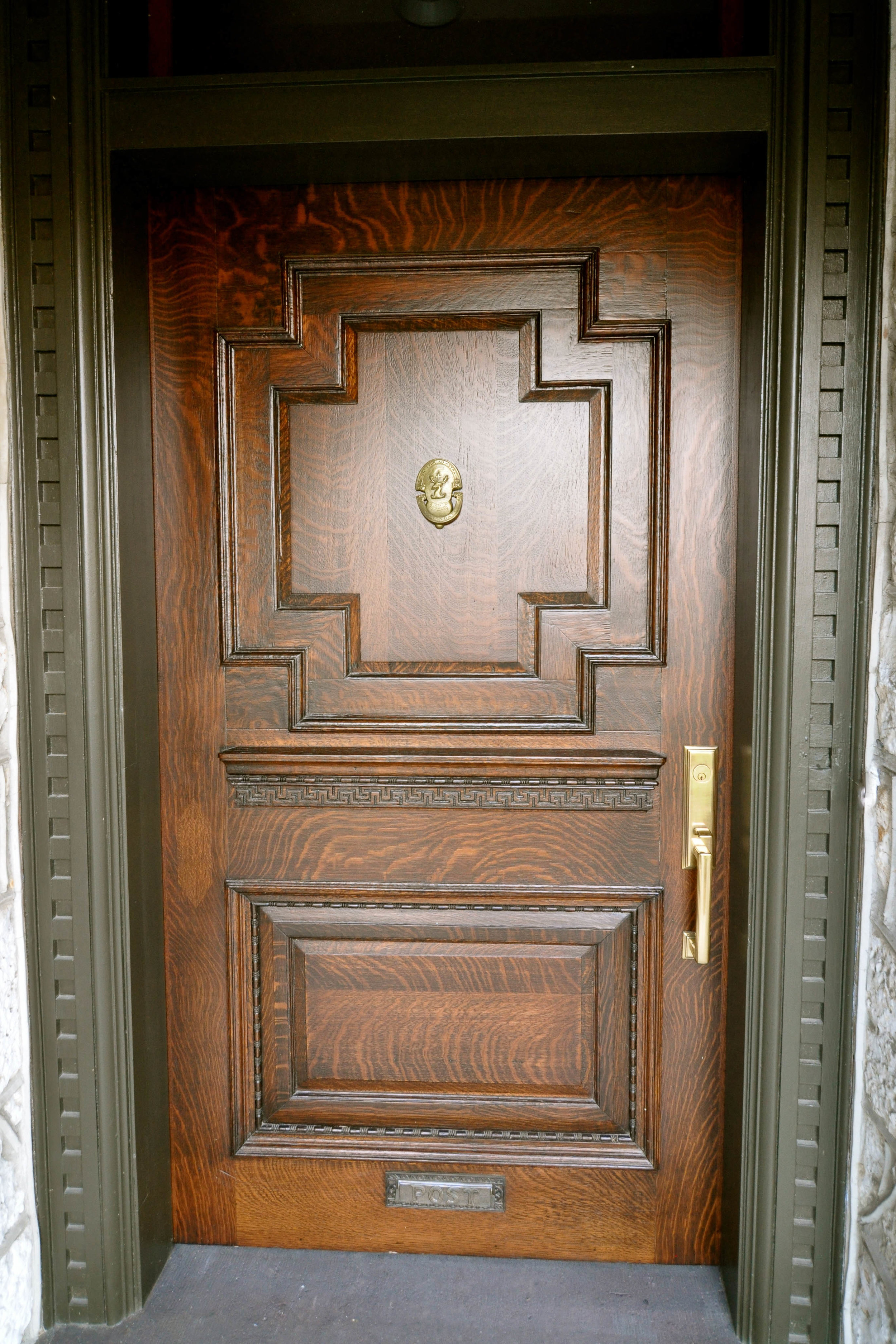 Restored Entry Door