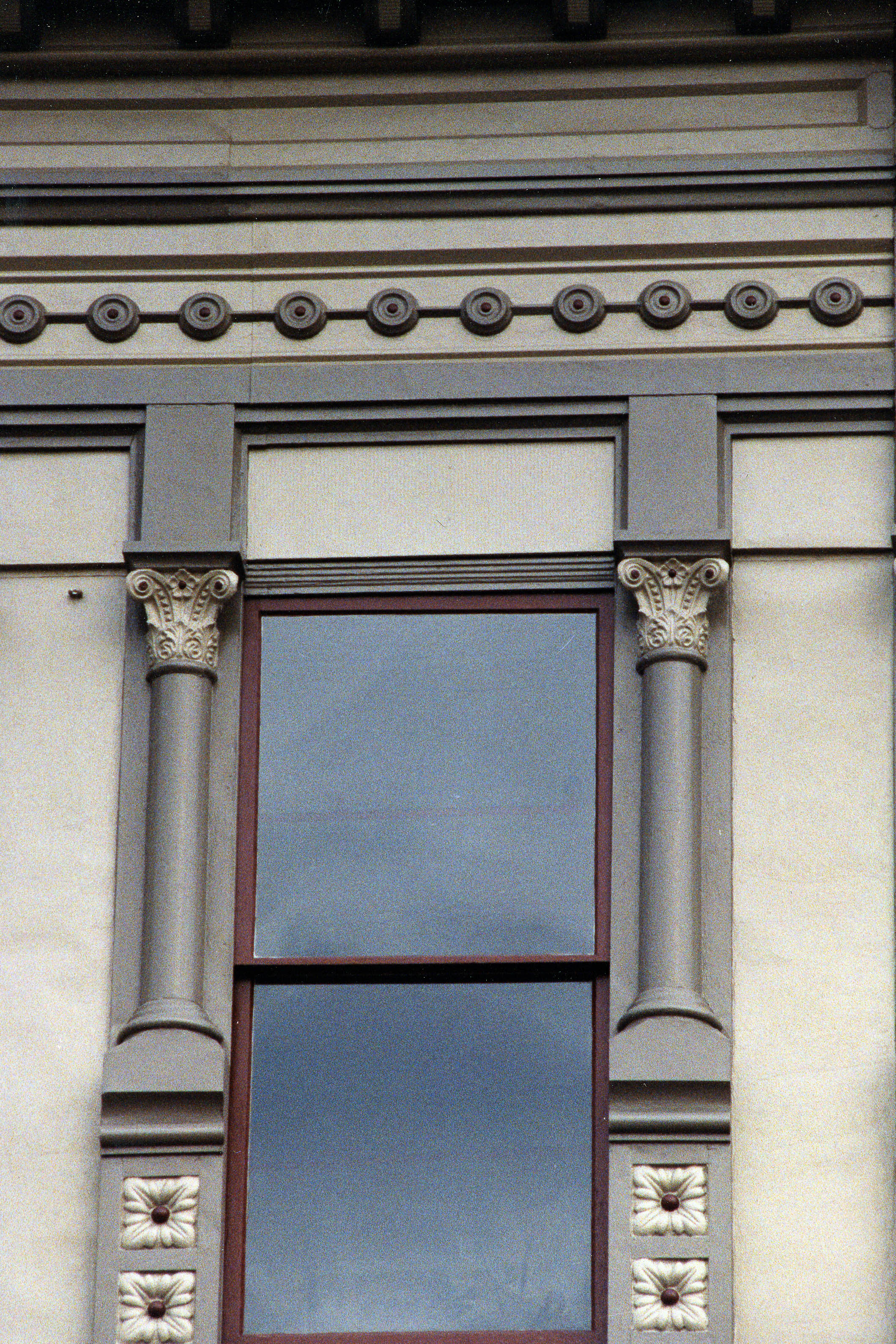 Restored Exterior Window Details