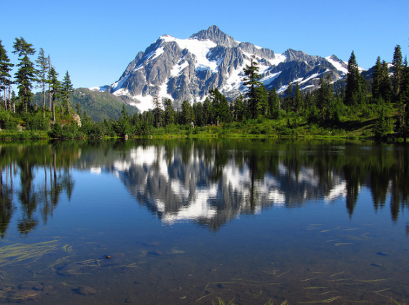 While you are in the area of  Mount Baker , you might as well hike its slopes as well. The Chain Lakes hike near Mount Baker is perhaps the best way to get your fill of mountain lakes, and there are plenty of them. For some reason, however, you can never get enough of the beauty of mountain lakes and this hike will allow you to explore several. While the actual hike is only just over two miles, there are several longer loop options that will allow you to stretch this hike into an overnighter.