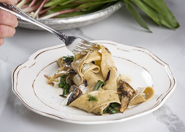 This Pappardelle is poppin' and all you have to do to try is pop on in, take a seat and enjoy!