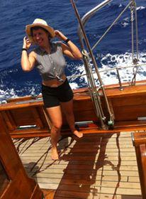 sailing to Panama, 2015