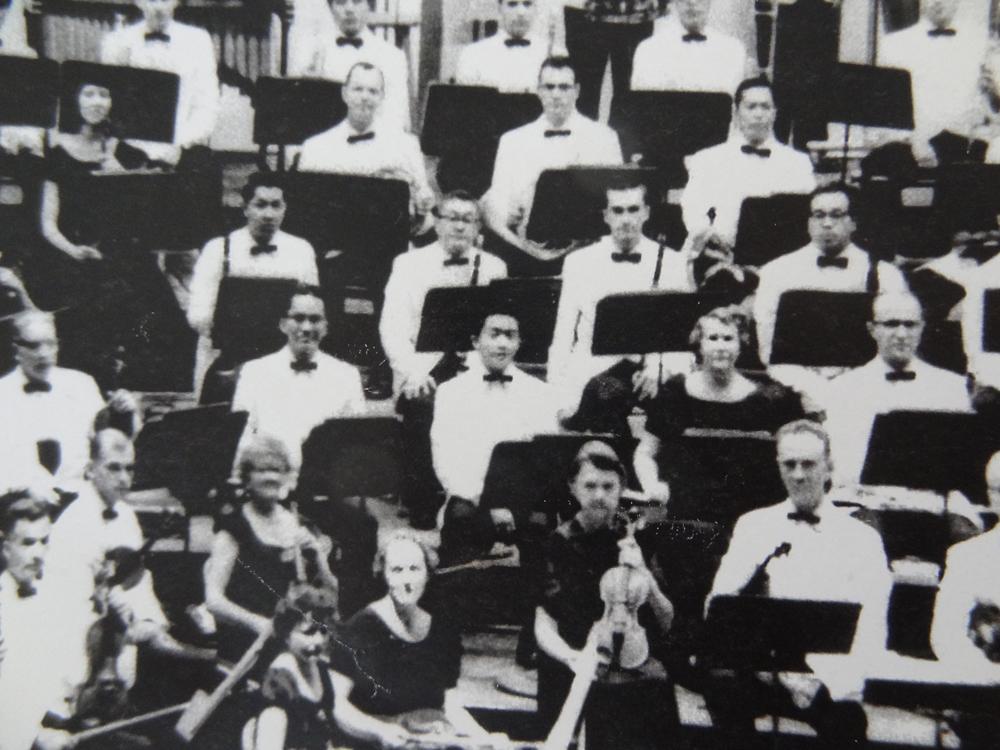 Jean Harling in the Honolulu Symphony
