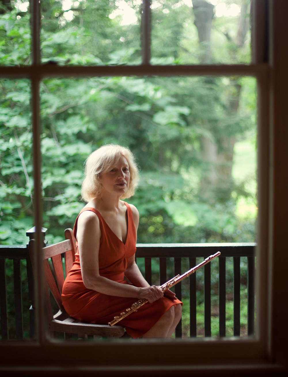 Flutist Paula Robison; Photo: Kate Lemmon