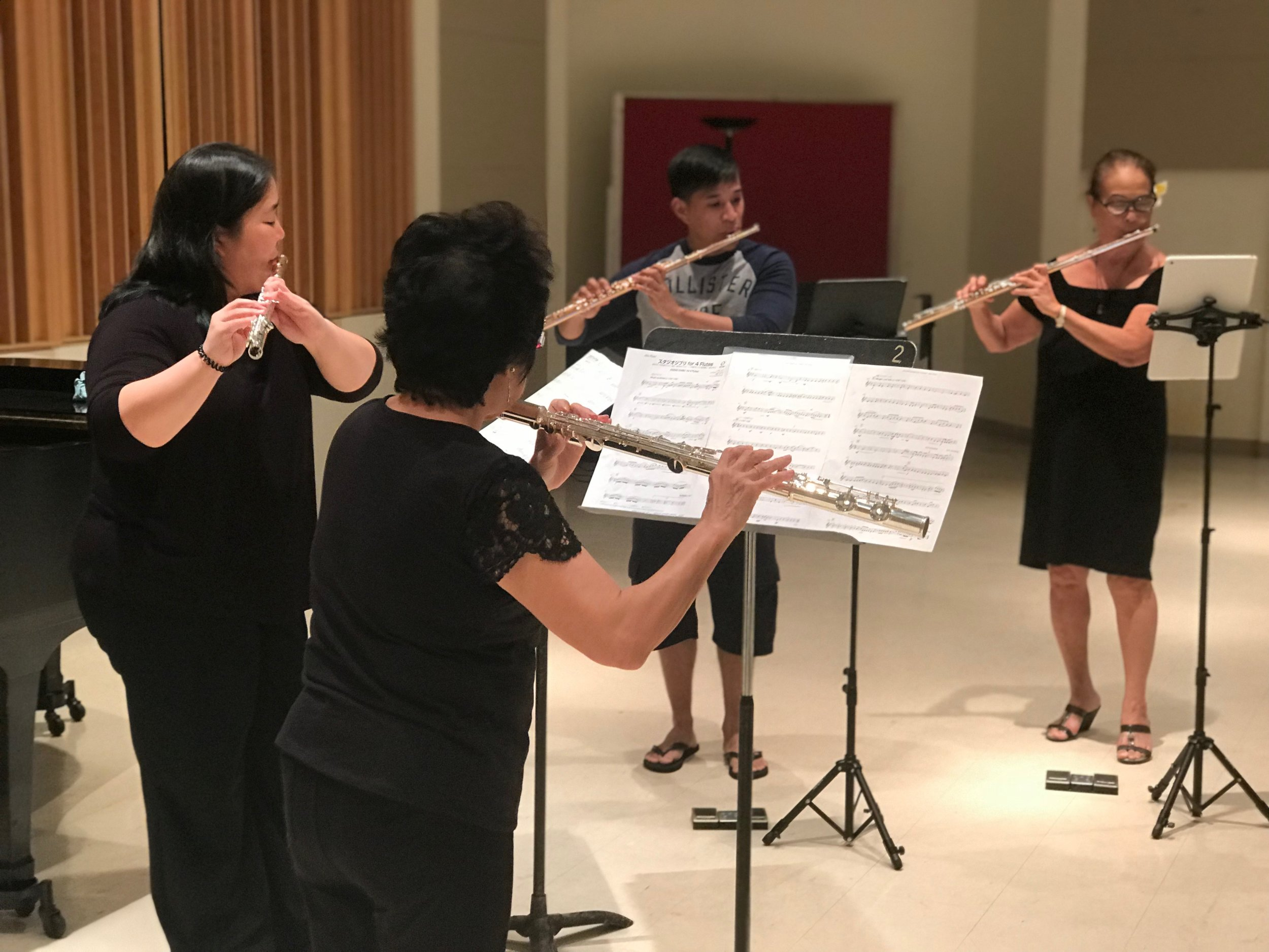 Outreach Ensembles - In 2019, HFS is forming chamber ensembles who will bring flute music to our local schools, hospitals and retirement communities.
