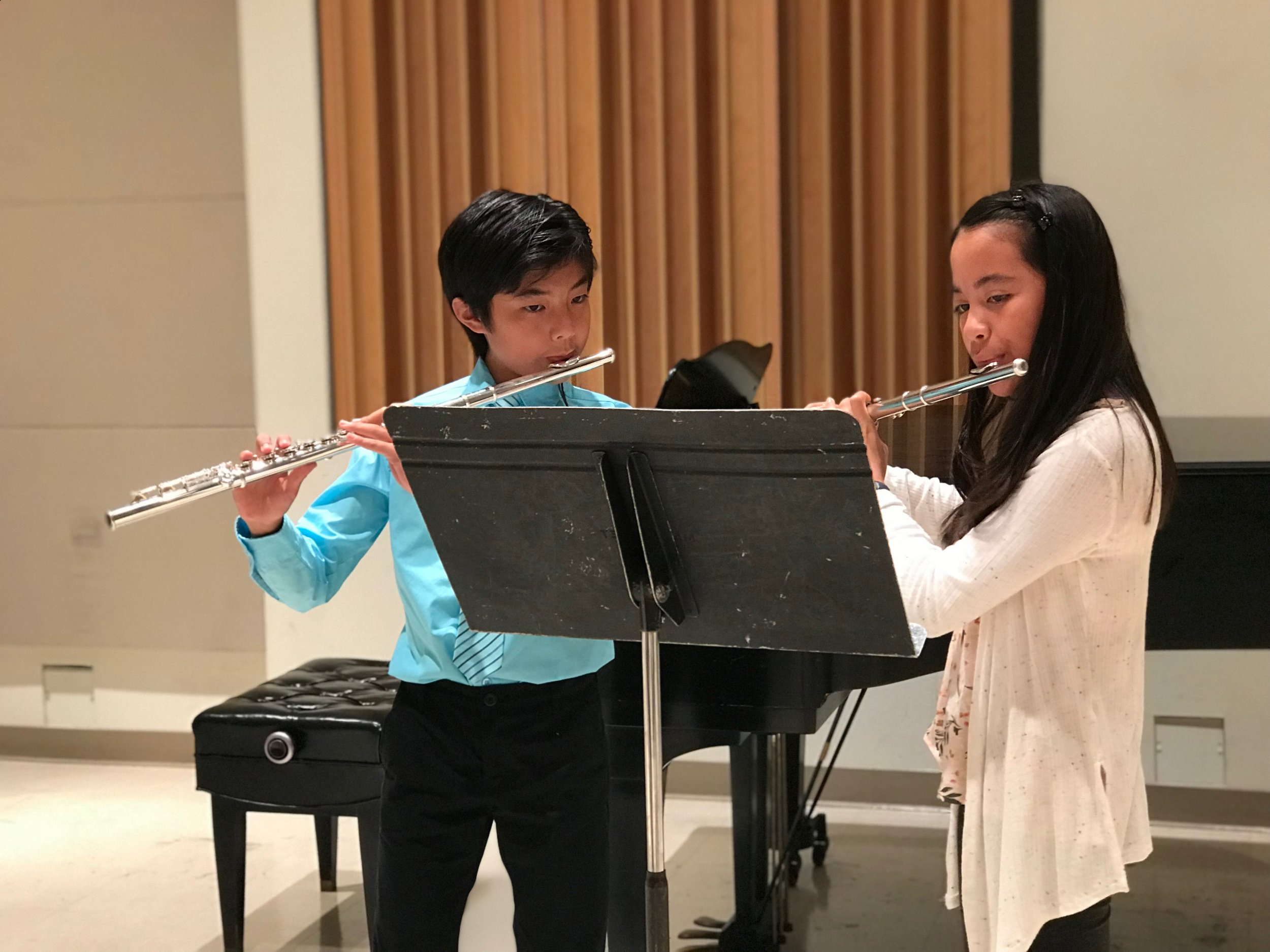 Junior Flute Ensemble - Designed for younger and less-experienced flutists, Junior Flute Ensemble builds ensemble experience and confidence in young players.