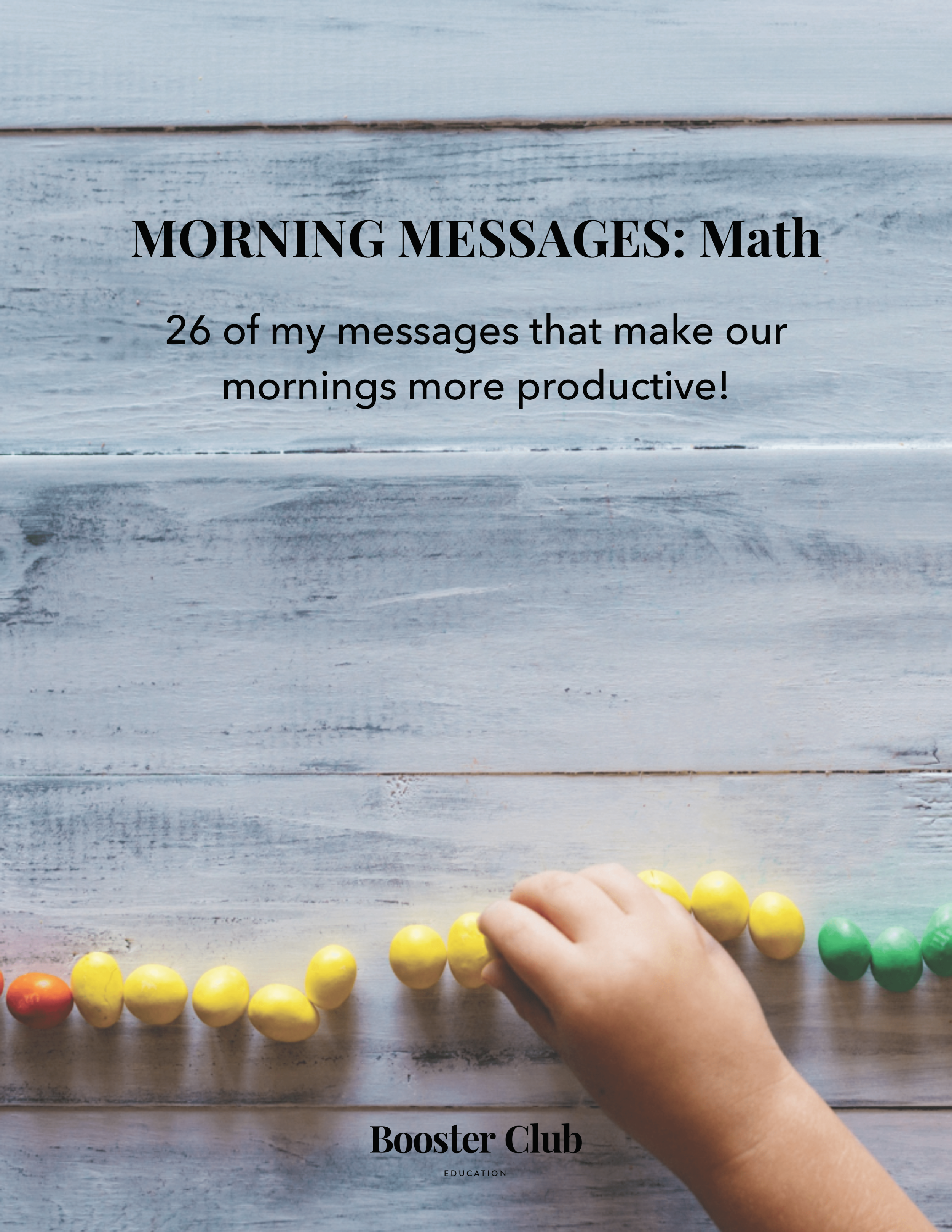 MORNING MESSAGES: Math