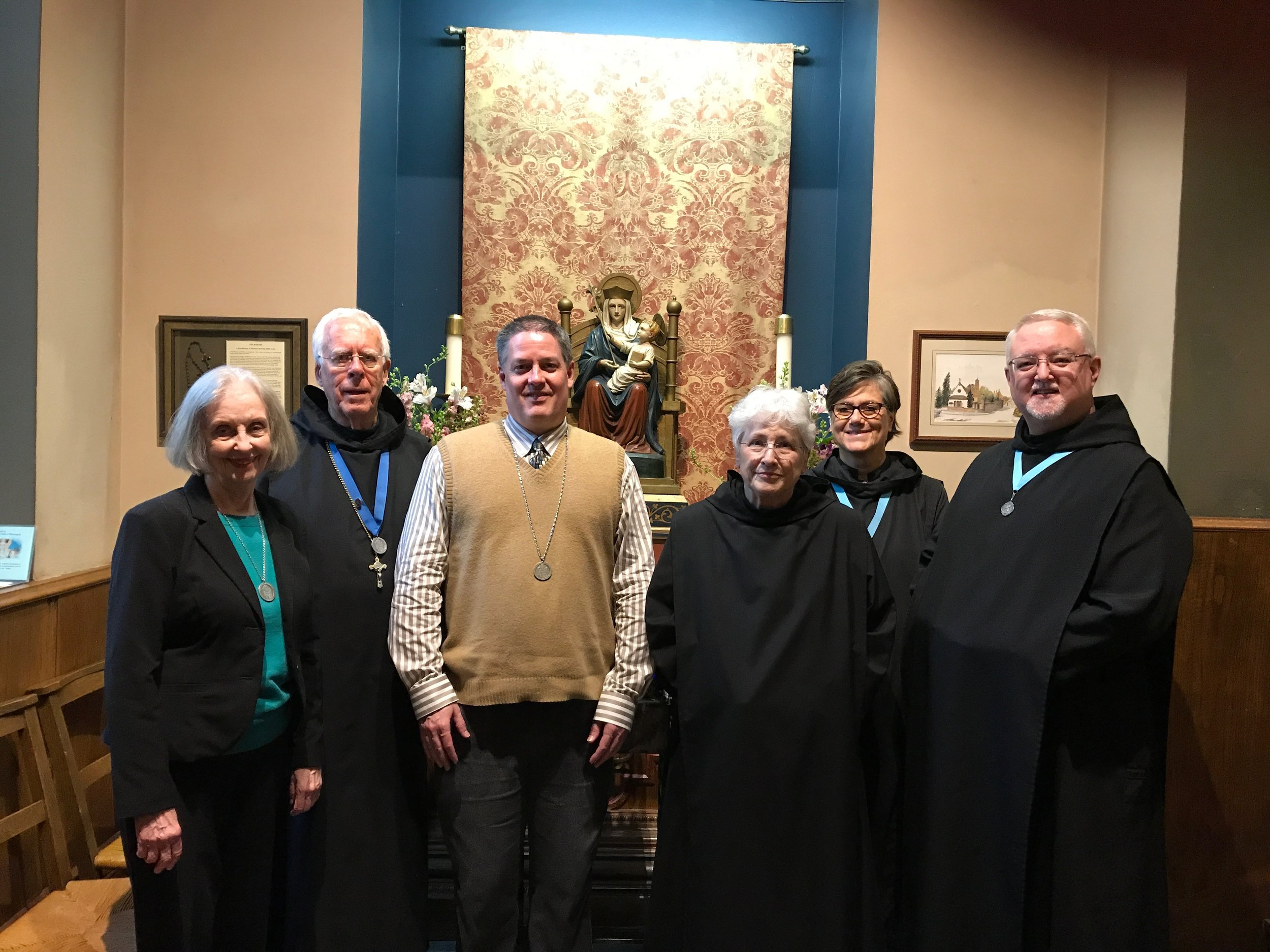 The Community of Our Lady of Walsingham at the Shrine of Our Lady at Grace Church, Sheboygan, WI..