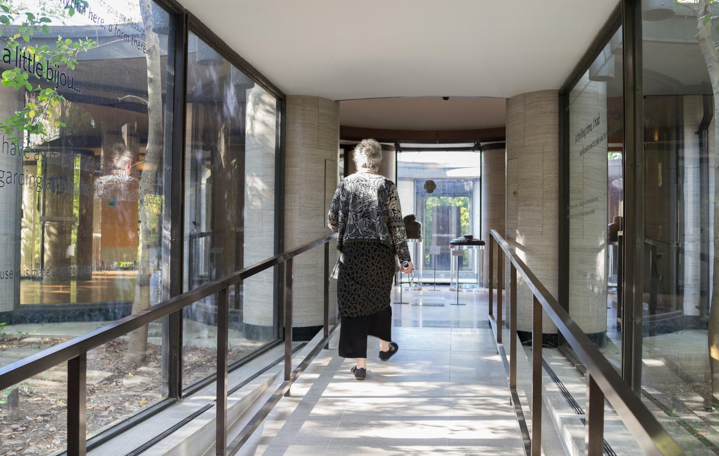 Hallway to the Pavilion