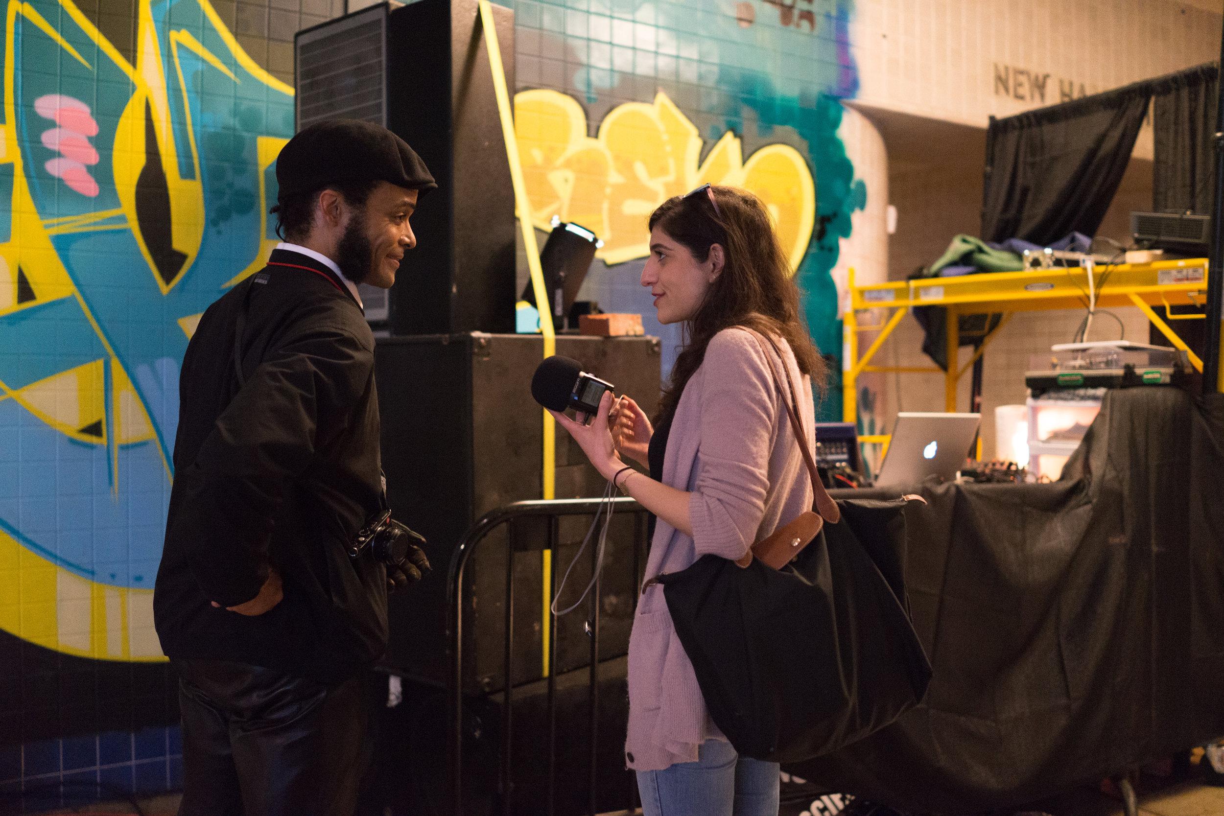 Deem Zein interviewed with DJ