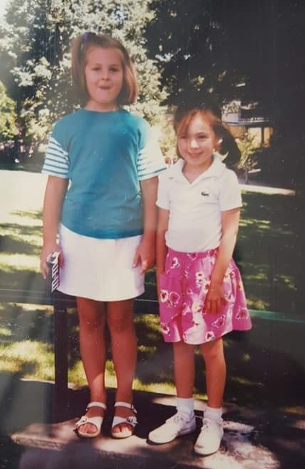 Me(left)and my best friend, Joanna, at the Philadelphia Zoo, circa 1989. There is only 1 year between us.