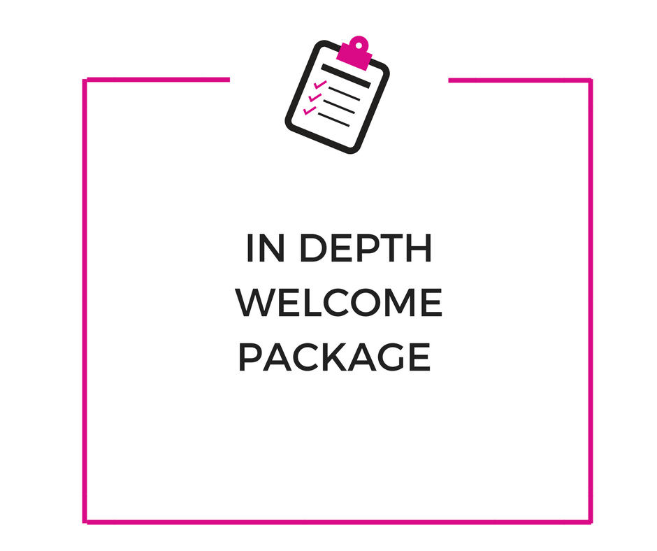 An in depth welcome package to uncover your biggest limiting beliefs and insecurities that are keeping you stuck.    Get ready for some deep shifts.