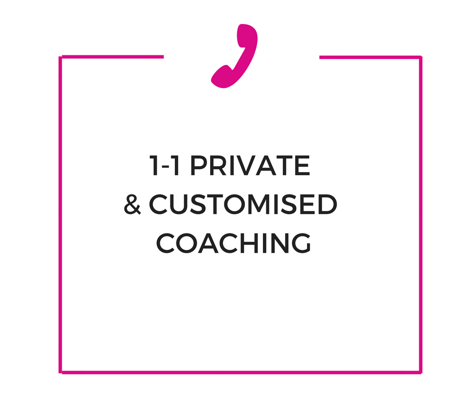 8 x 50 minute private and personalised coaching sessions focused on increasing your self confidence and self belief so that you can take bold, purposeful and powerful steps towards your dreams.    Get ready to crush those goals.